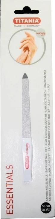 Маникюрная пилка Titania, гибкая, 1040/5, белый