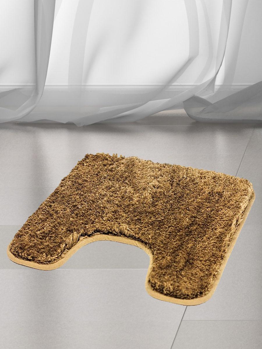 Коврик для туалета BATH PLUS DB4155/0, коричневый