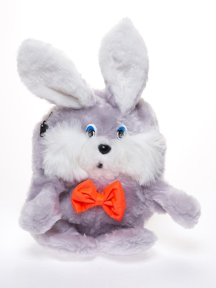 Мягкая игрушка Радомир С906 Заяц-рюкзачок серый