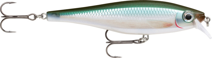 Воблер Rapala, плавающий, BXM07-BBH, Silver, длина 70 мм, 7 г