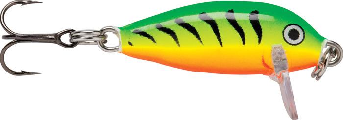 Воблер Rapala, тонущий, CD05-FT, Glass Perch, длина 50 мм, 5 г