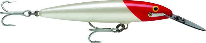 Воблер Rapala, тонущий, CDMAG18-RH, Firetiger, длина 180 мм, 70 г
