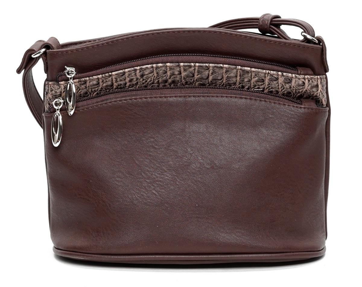 купить Сумка на плечо VITA, VITA-Art KK 632-149, коричневый по цене 1360 рублей