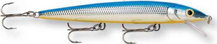 Воблер Rapala, суспендер, HJ08-SB, Silver, длина 80 мм, 6 г