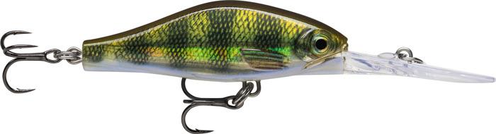 Воблер Rapala, медленно всплывающий, SDRJD05-PEL, Lime Frog, длина 50 мм, 6 г