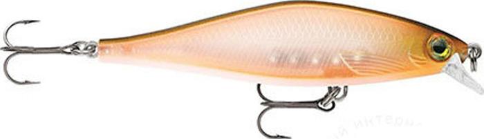 Воблер Rapala, медленно всплывающий, SDRSD09-CRU, Silver, длина 90 мм, 10 г