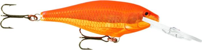 Воблер Rapala, плавающий, SR09-GF, Scaled Roach, длина 90 мм, 15 г