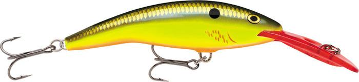Воблер Rapala, плавающий, TD07-BHO, Flash Yellow Perch, длина 70 мм, 9 г