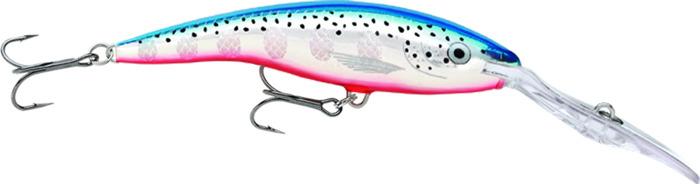 Воблер Rapala, плавающий, TDD13-BFL, Glass Dot Ayu UV, длина 130 мм, 42 г