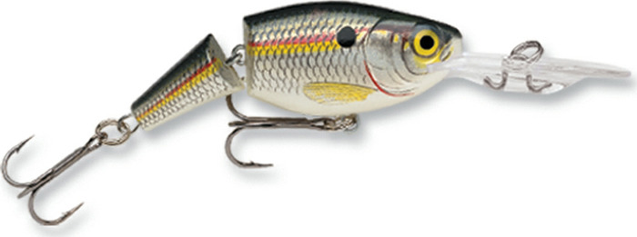 Воблер Rapala, суспендер, JSR09-SD, Green Tiger UV, длина 90 мм, 25 г