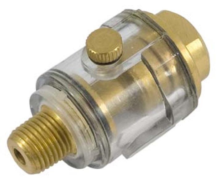 Масленка для смазки AIST Лубрикатор линейный 1/4 мини масленка для пневмоинструмента, золотой