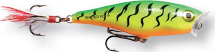 Воблер Rapala, плавающий, поверхностный, SP05-FT, Hot Pike , длина 50 мм, 7 г