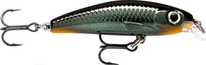 Воблер Rapala, медленно тонущий, ULM04-CBN, Hot Steel, длина 40 мм, 3 г воблер rapala медленно тонущий ulm06 cbn brown trout длина 60 мм 4 г