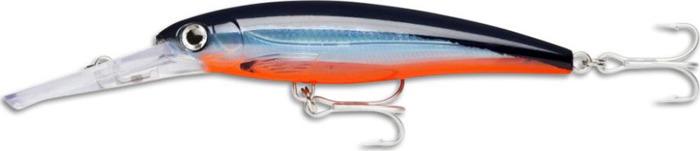 Воблер Rapala, плавающий, XRMAG10-BFU, Blue Fusilier UV, длина 110 мм, 22 г