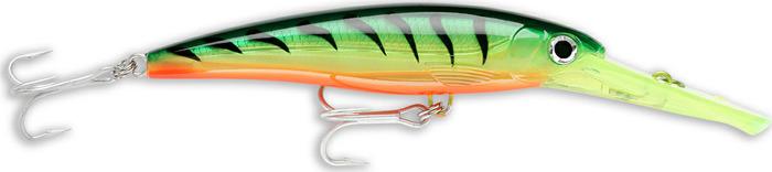 Воблер Rapala, плавающий, XRMAG30-FT, Firetiger, длина 160 мм, 72 г