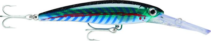 Воблер Rapala, плавающий, XRMAG30-LLU, Lime Light UV, длина 160 мм, 72 г