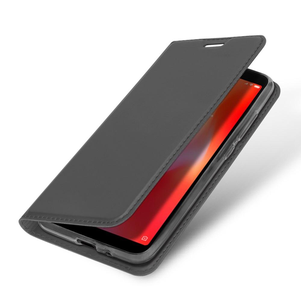 Чехол для сотового телефона DUX DUCIS Xiaomi Redmi 6A Чехол-книжка с подставкой, черный аэрогриль dux 0103