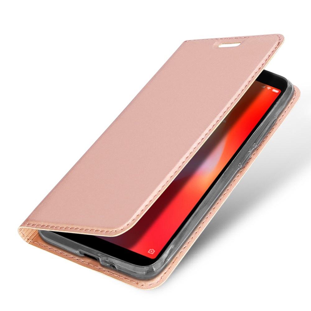 Чехол для сотового телефона DUX DUCIS Xiaomi Redmi 6A Чехол-книжка с подставкой, розовый аэрогриль dux 0103