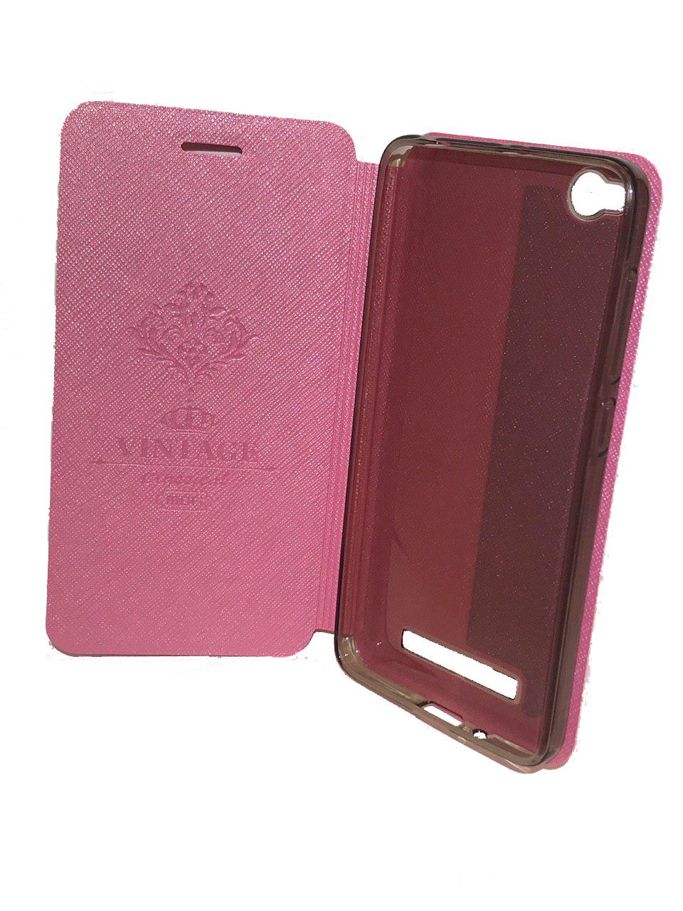 Фото - Чехол для сотового телефона Mofi Книжка Ribbed Xiaomi Redmi Note 4X Pink, розовый open shoulder ribbed tshirt