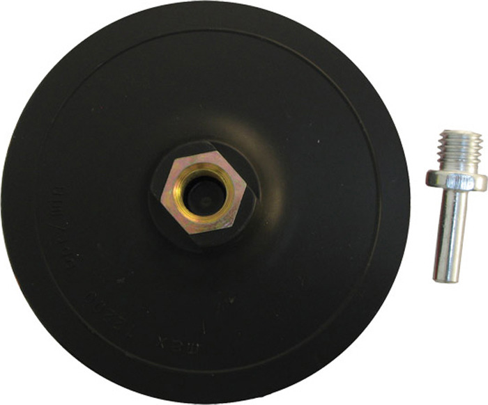 Тарелка опорная Archimedes Лип Norma 125 91237, дрель, УШМ тарелка опорная д ушм и дрели kwb 115мм с липучкой
