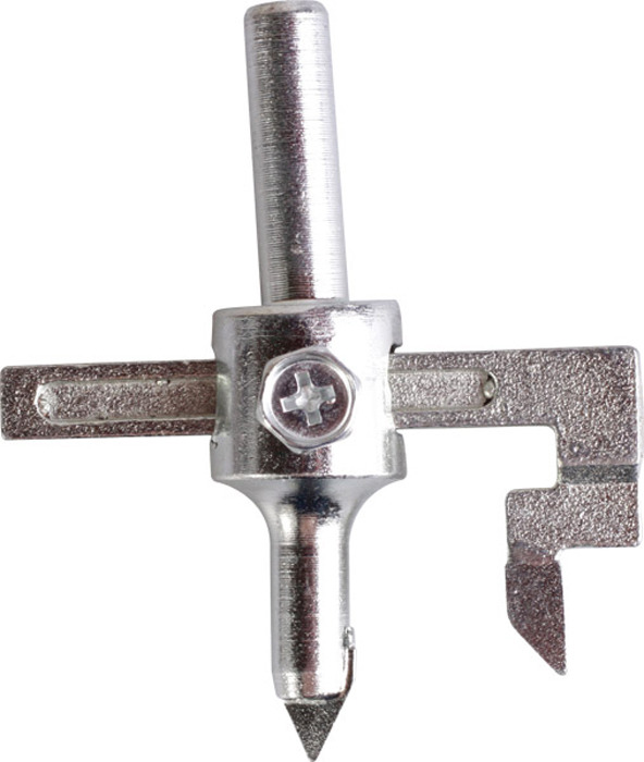 Сверло круглое Archimedes, для отверстий в плитке, 20-90 мм