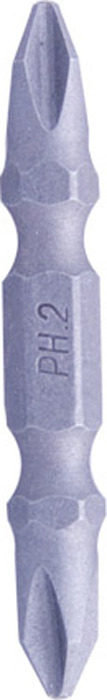 Вставка шестигранная Archimedes Norma, двусторонняя, 50мм, Ph2/2, 1 шт набор инструментов archimedes набор инструмента norma 21 шт