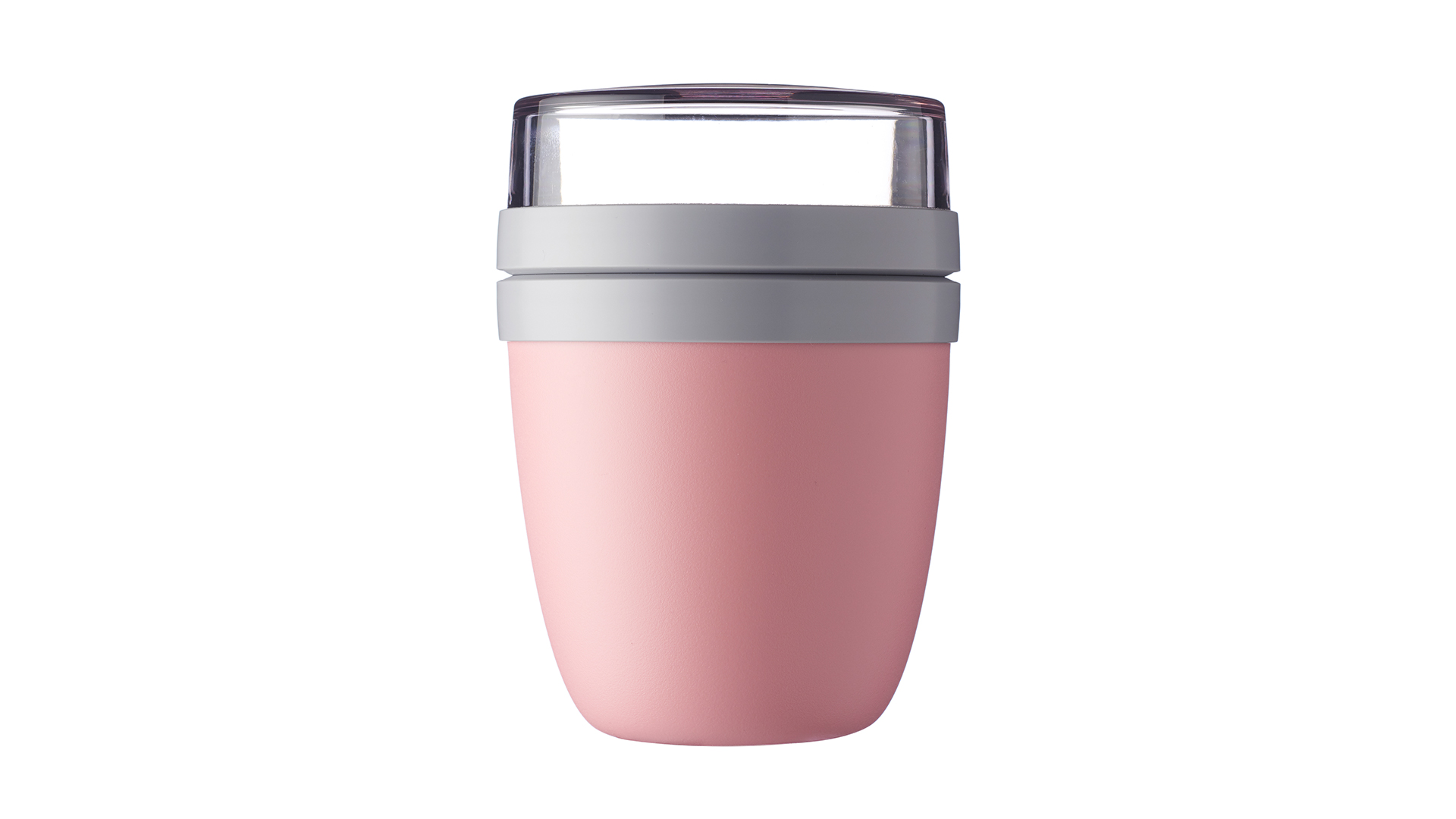 Кейс Mepal Ланч-бокс двухкамерный, розовый