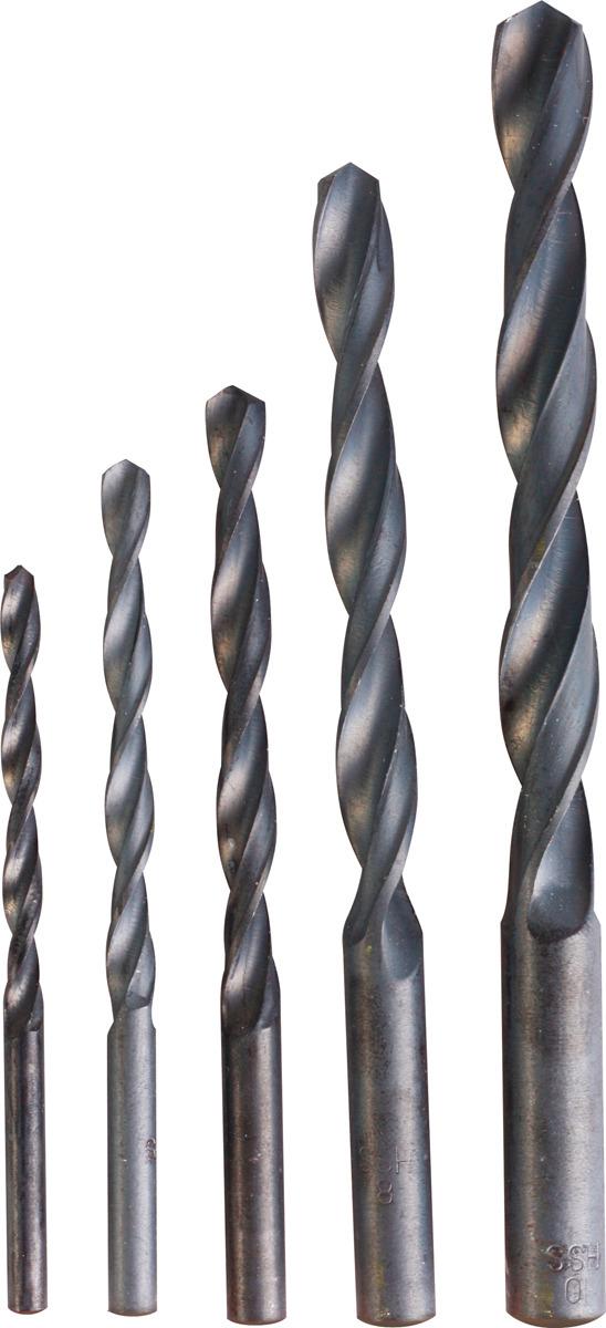 Набор сверл по металу B10 91779, 4,5,6,8,10 мм, HSS, 5 шт набор полотна ножовочного по металлу b10 90014 6 шт