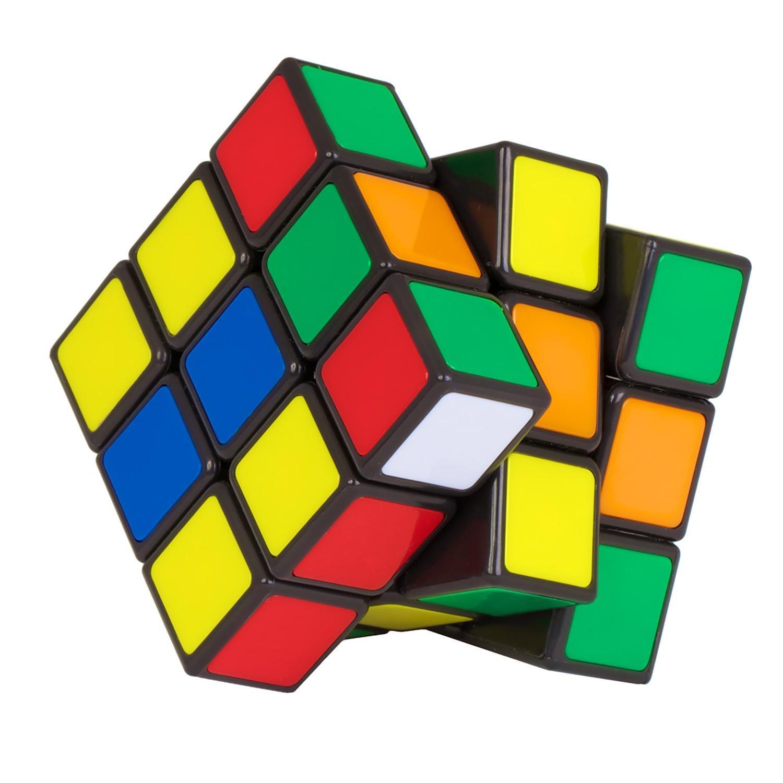 Головоломка MARKETHOT Кубик РубикаZ00047Головоломка представляет собой пластмассовый куб . Его видимые элементы выглядят как 27 малых кубиков с 54 видимыми цветными гранями, составляющих один большой куб. Грани большого куба способны вращаться вокруг 3 внутренних осей куба. Каждая из шести граней состоит из девяти квадратов и окрашена в один из шести цветов, в одном из распространённых вариантов окраски расположенных парами друг напротив друга: красный — оранжевый, белый — жёлтый, синий — зелёный. Повороты граней позволяют переупорядочить цветные квадраты множеством различных способов. Задача игрока заключается в том, чтобы «собрать кубик Рубика»: поворачивая грани куба, вернуть его в первоначальное состояние, когда каждая из граней состоит из квадратов одного цвета.