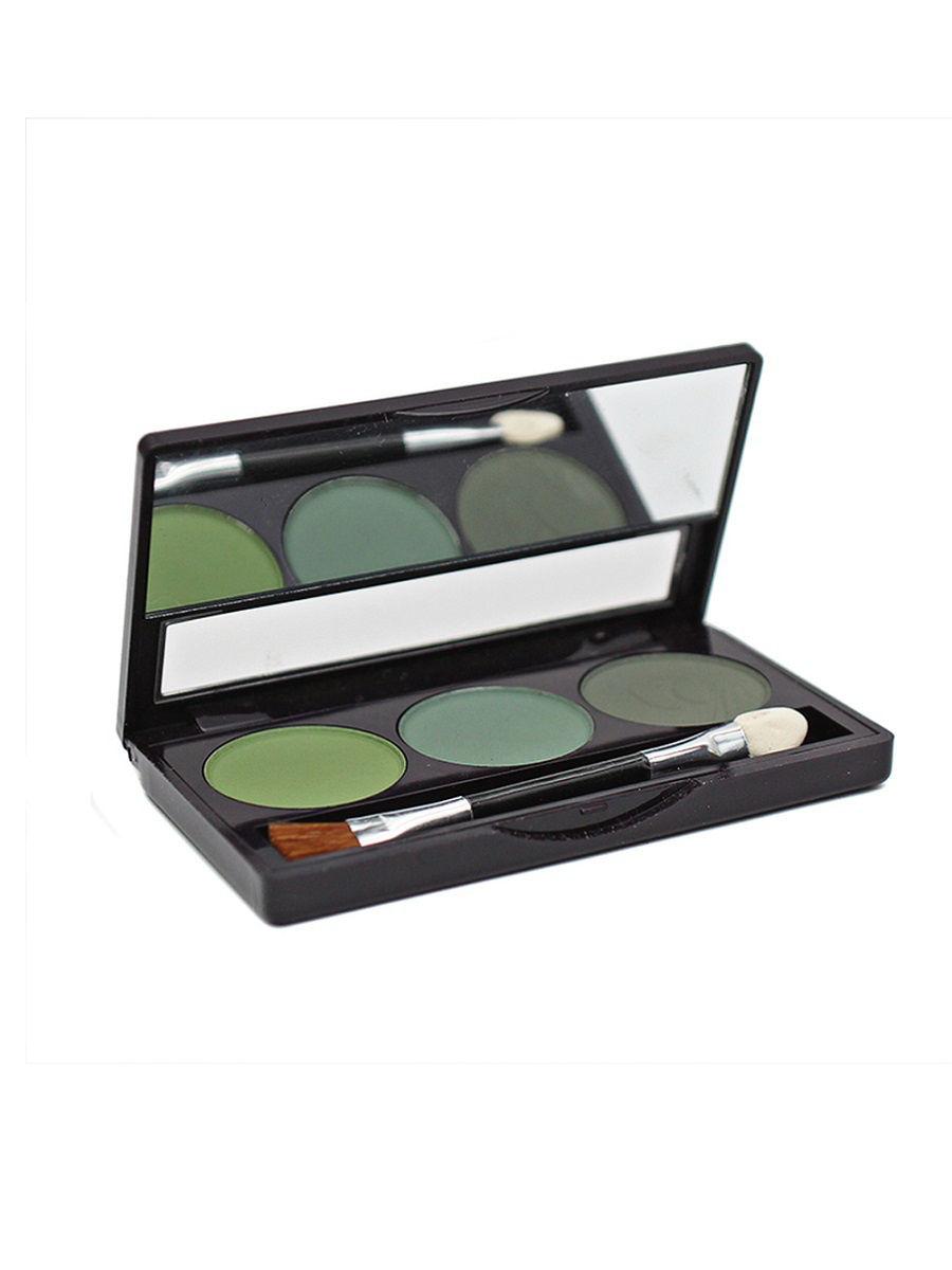 Тени для век Latuage Cosmetic 3-х цветные Smart тон 309