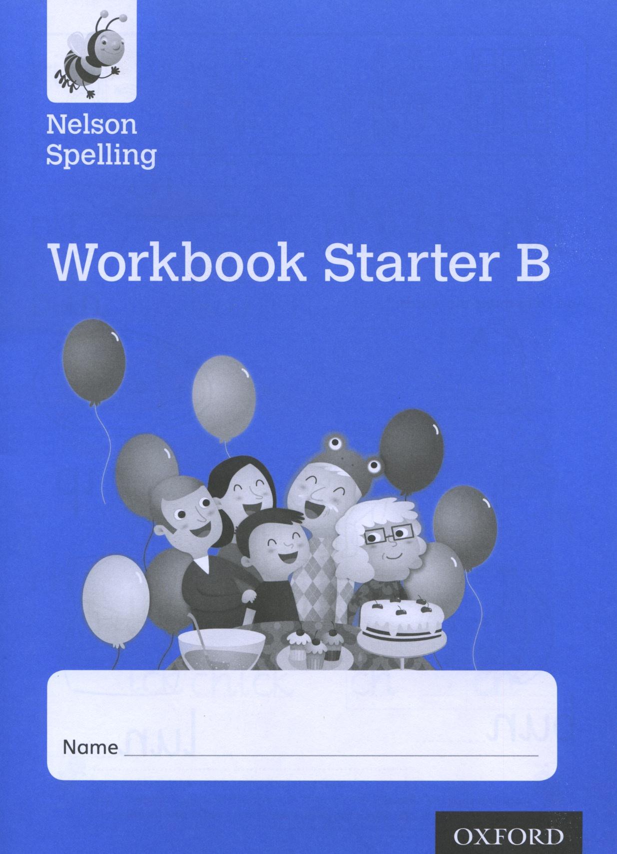 Nelson Spelling Workbook Starter B speakout starter workbook cd