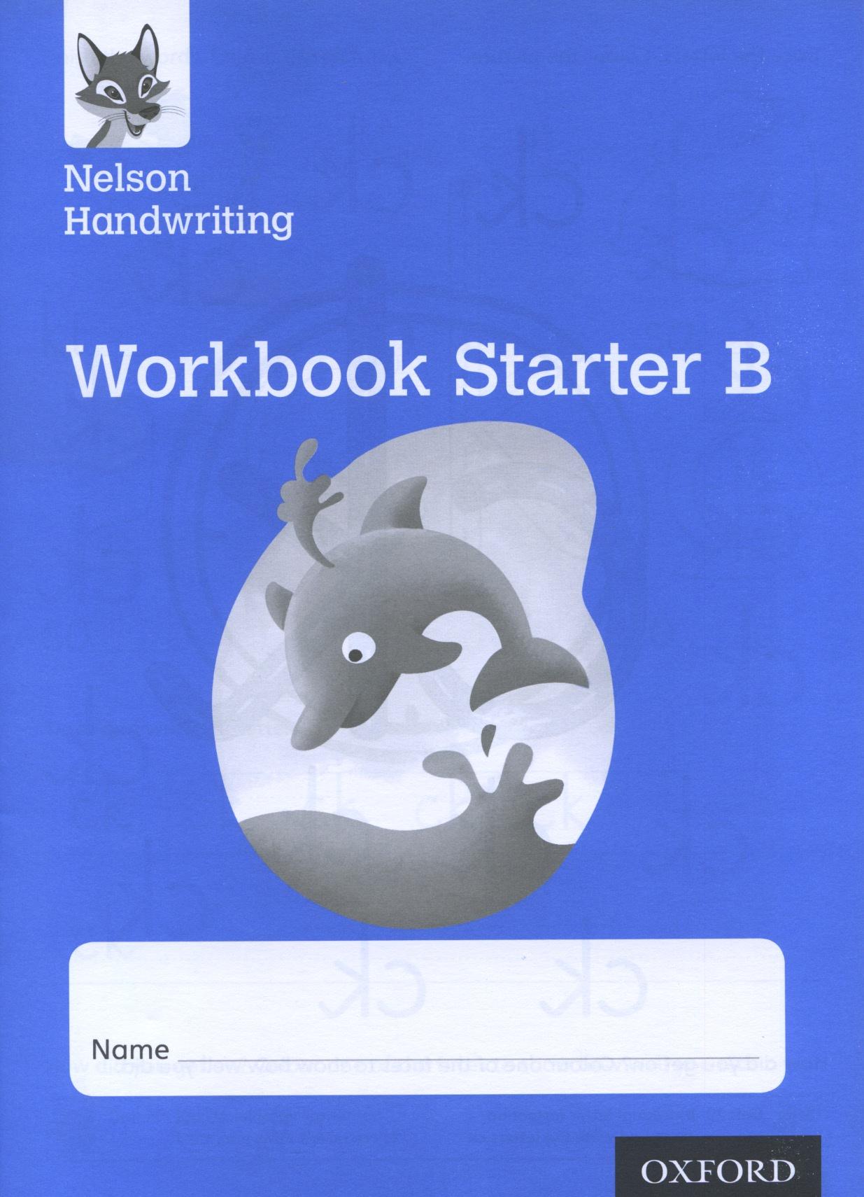 Nelson Handwriting Workbook Starter B speakout starter workbook cd