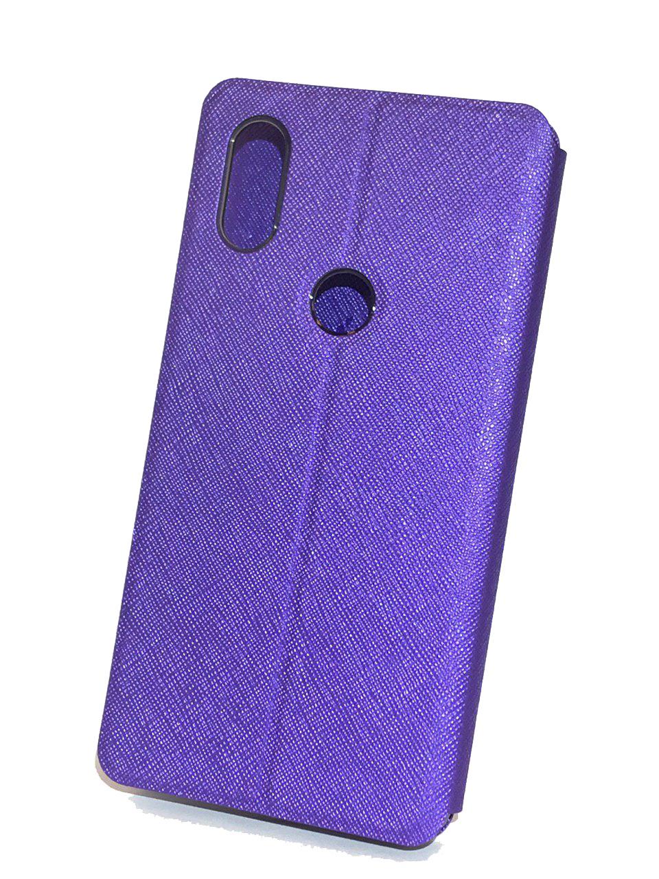 Фото - Чехол для сотового телефона Mofi Книжка Ribbed Xiaomi Redmi 6 Pro/ A2 Lite Purple, фиолетовый open shoulder ribbed tshirt