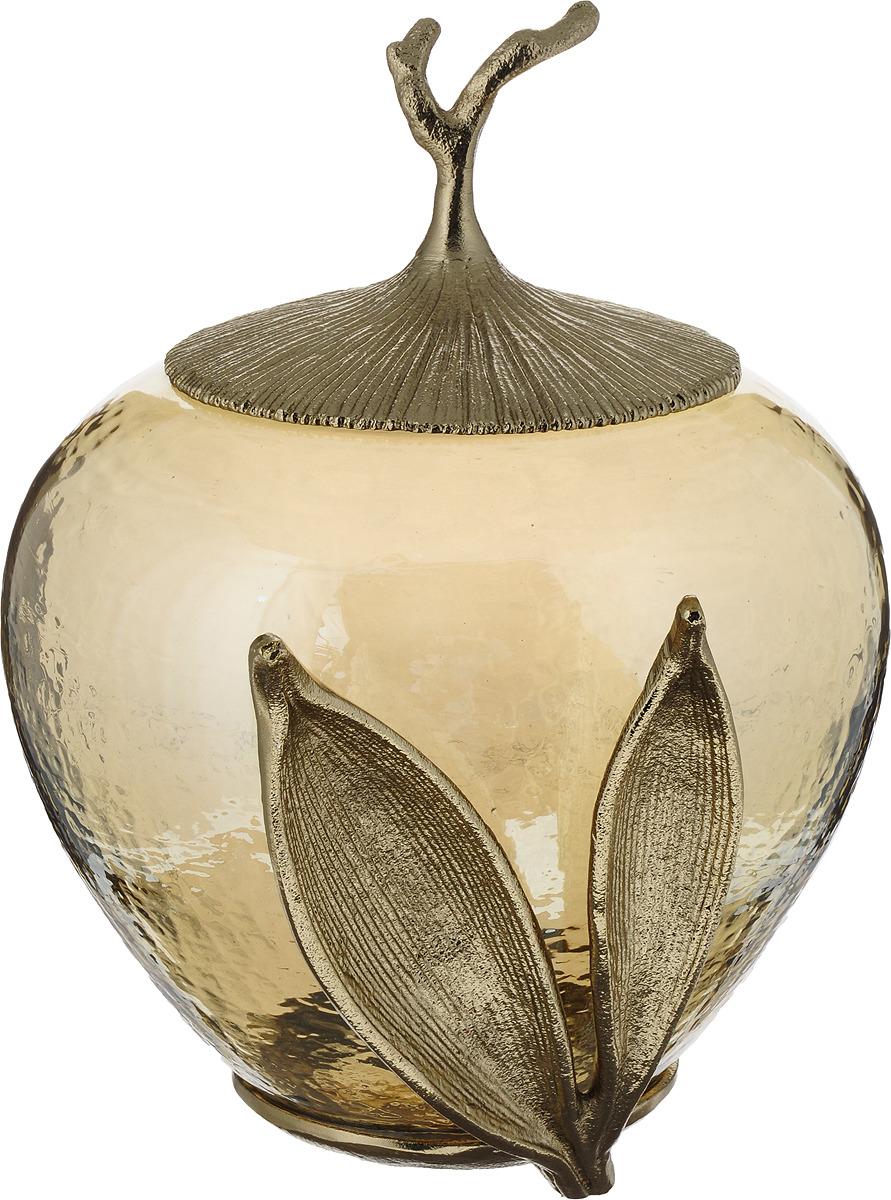 лучшая цена Ваза Lefard с крышкой, 732-134, прозрачный, 26,50 х 21,50 х 28 см