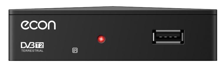 ТВ-тюнер/ресивер ECON DTE-101, черный