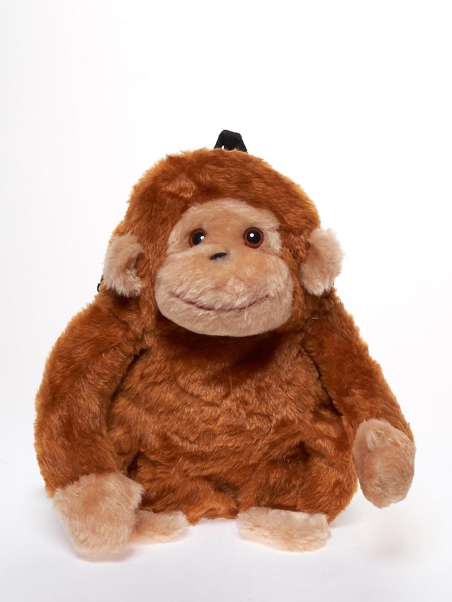 Мягкая игрушка Радомир С960/обезьяна-рюкзачок коричневый