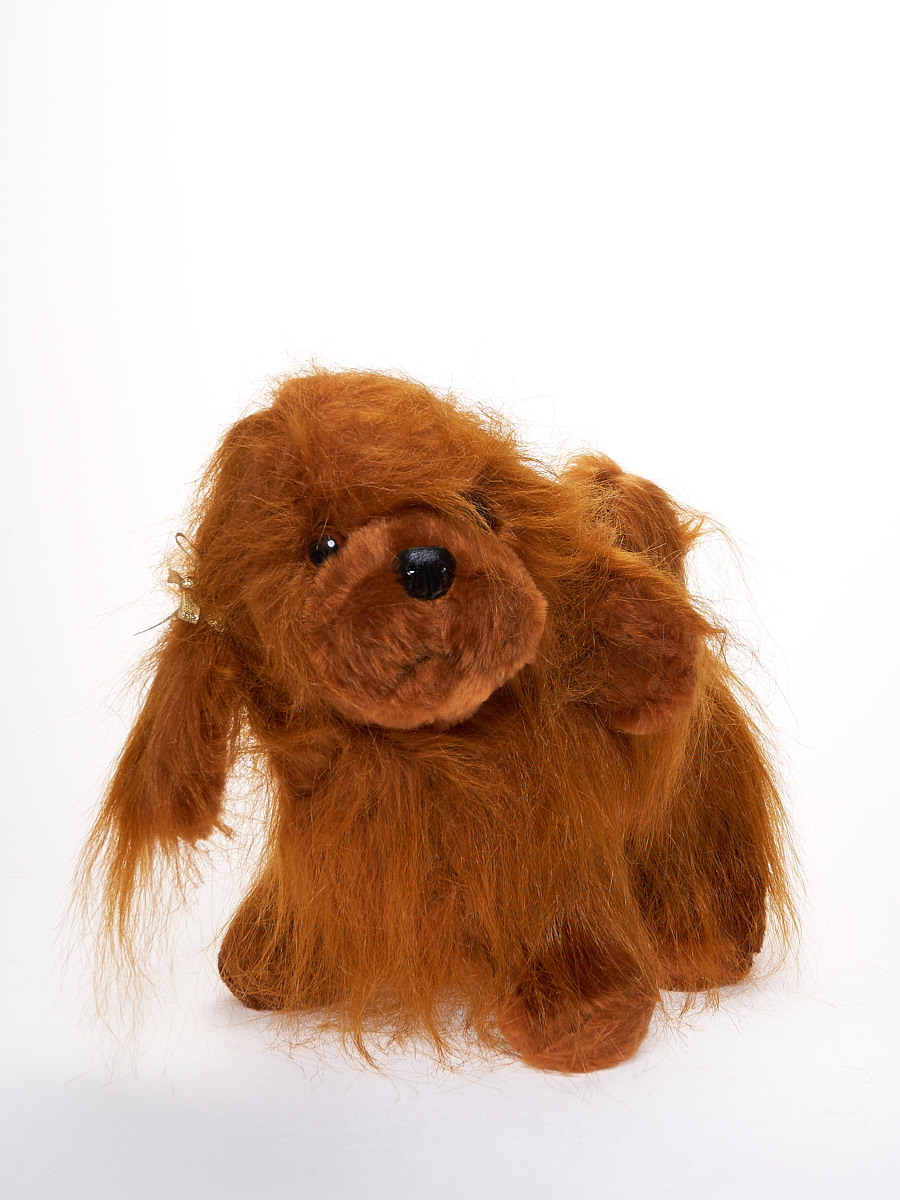 Мягкая игрушка Радомир С534/собакакапа коричневый