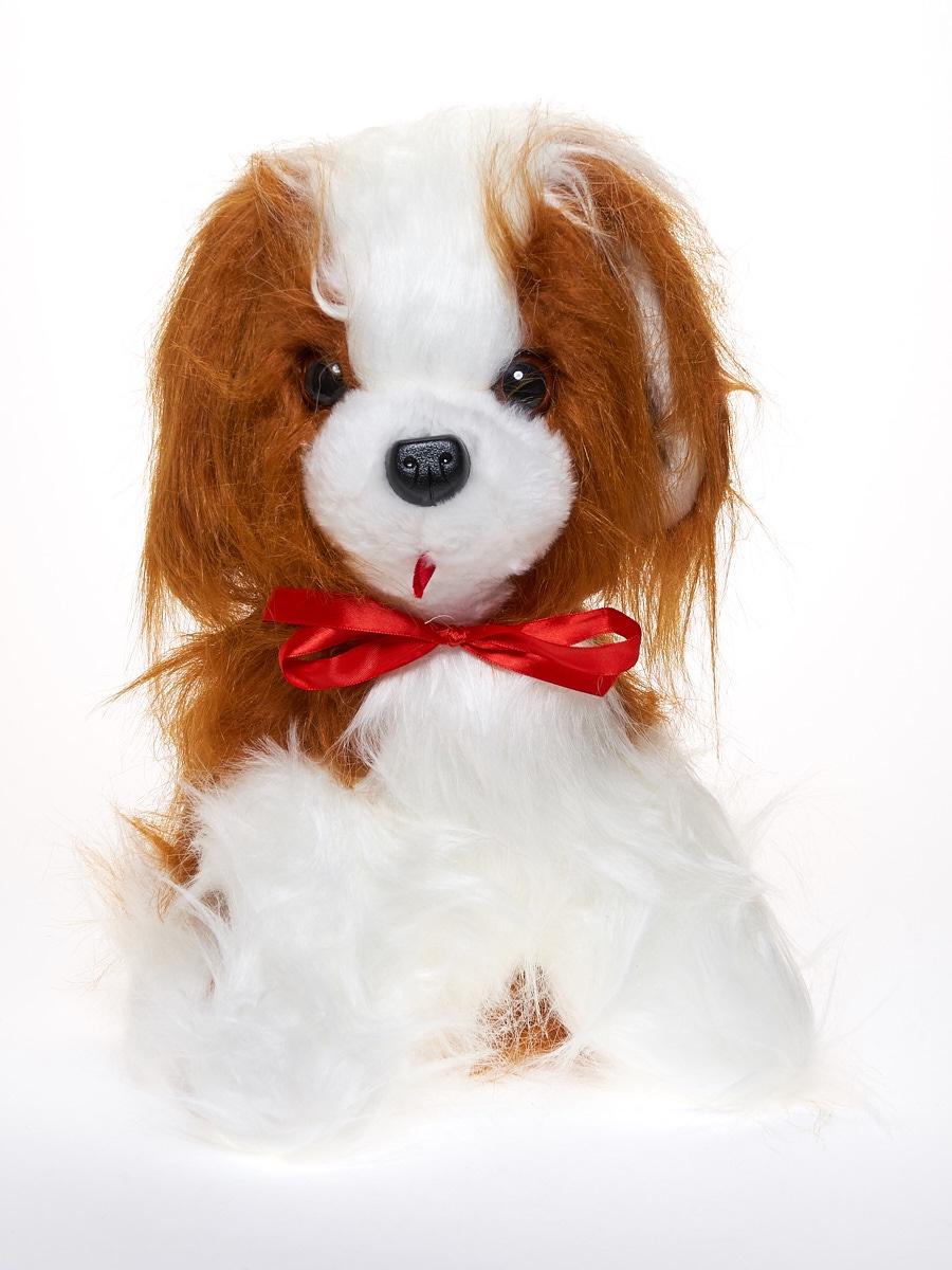 Мягкая игрушка Радомир С535/собакагуля белый, коричневый