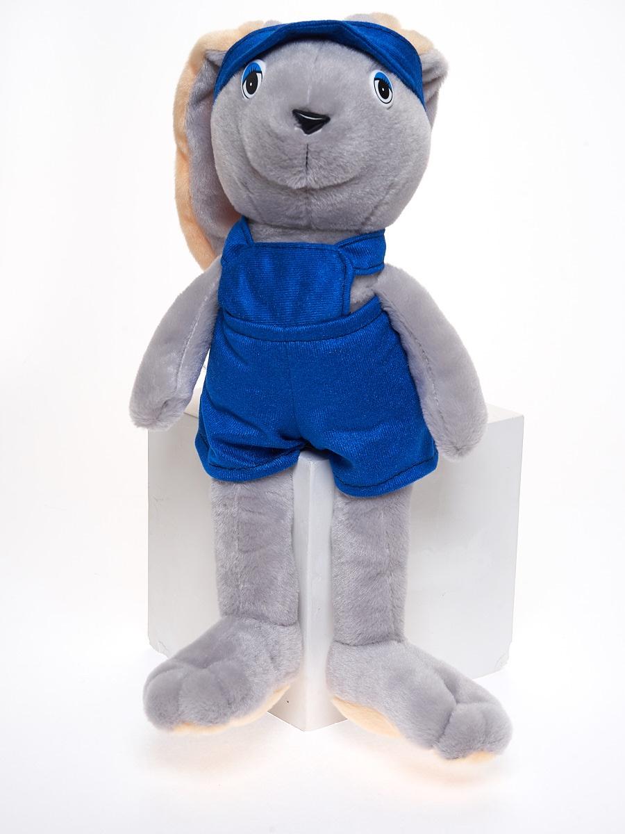 Мягкая игрушка Радомир С649/заяцудалец серый, синий