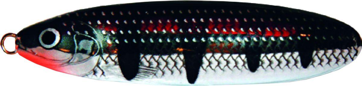 Блесна-незацепляйка колеблющаяся Rapala Minnow Spoon, RMS08-SH, 8 см, 22 г