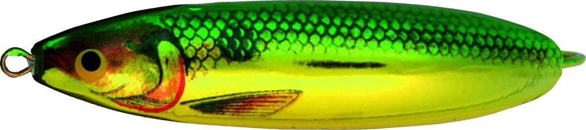 Блесна-незацепляйка колеблющаяся Rapala Minnow Spoon, RMS05-GSD, 5 см, 7 г