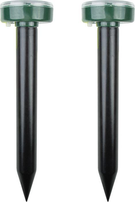 Набор ультразвуковых отпугивателей Rexant, на солнечной батарее, 71-0037, 2 шт ультразвуковой отпугиватель кротов на солнечной батарее rexant r30 71 0007