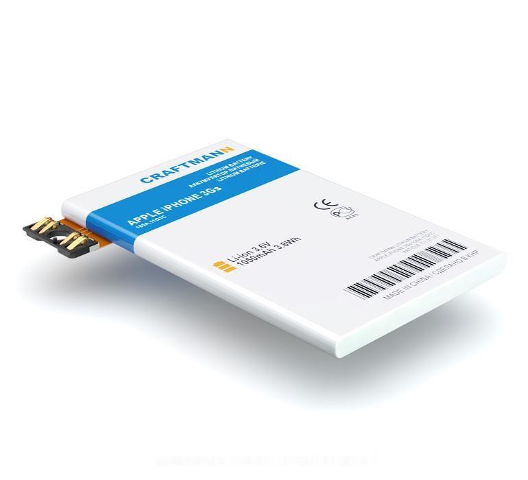 Аккумулятор для телефона Craftmann для Apple iPhone 3Gs (616-0435) аккумулятор для телефона craftmann для apple iphone 5s с увеличенной ёмкостью 1690 mah a69ta006h