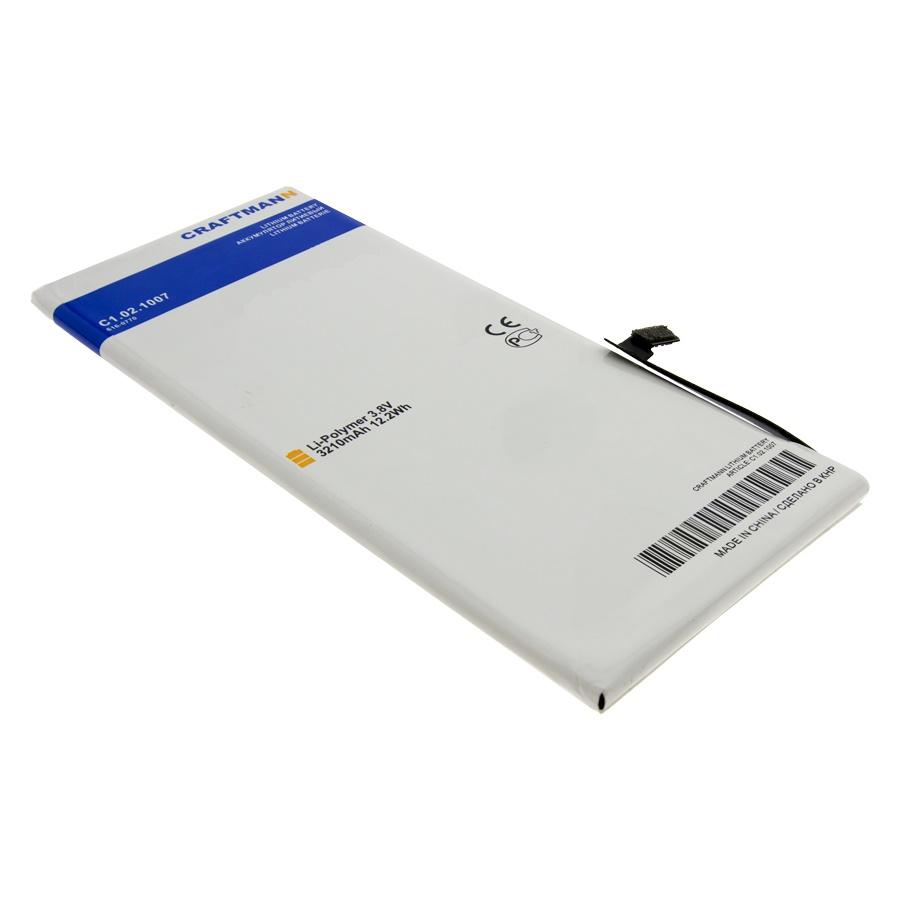 Аккумулятор для Apple iPhone 6 Plus с увеличенной ёмкостью - 3210 mAh аккумулятор для телефона craftmann для apple iphone 7 с увеличенной ёмкостью до 2160 mah 616 00259