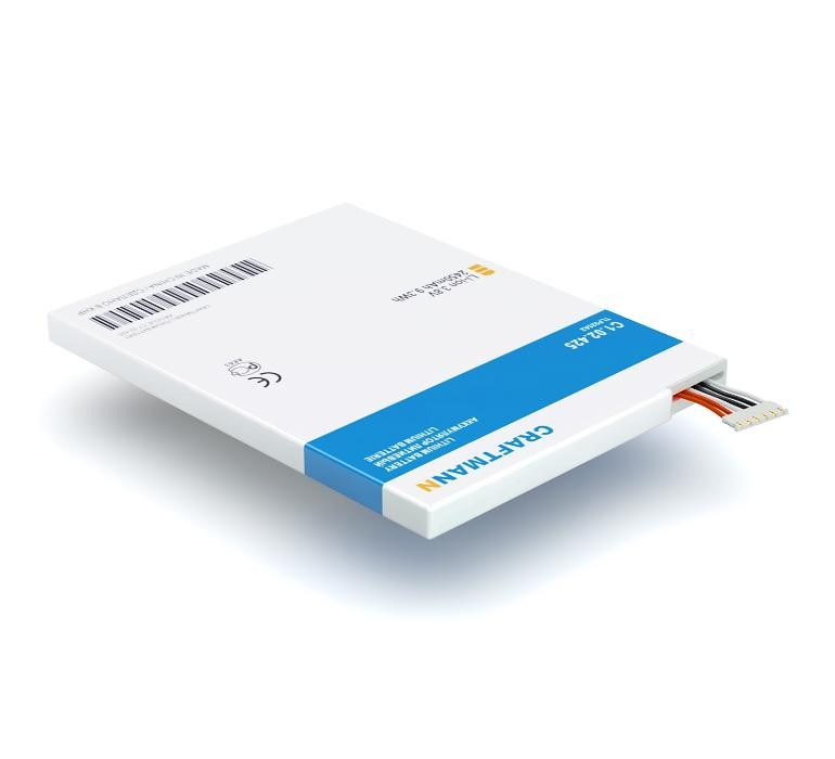 цена на Аккумулятор для телефона Craftmann TLP025A2 для Alcatel One Touch 8000D Scribe Easy, 8008D Scribe HD D, 8008X, 7047D POP C9, 6043D Idol X+, 7048X Go Play