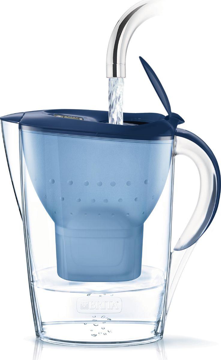 Фильтр-кувшин Brita Marella Cool, синий, 2,4 л