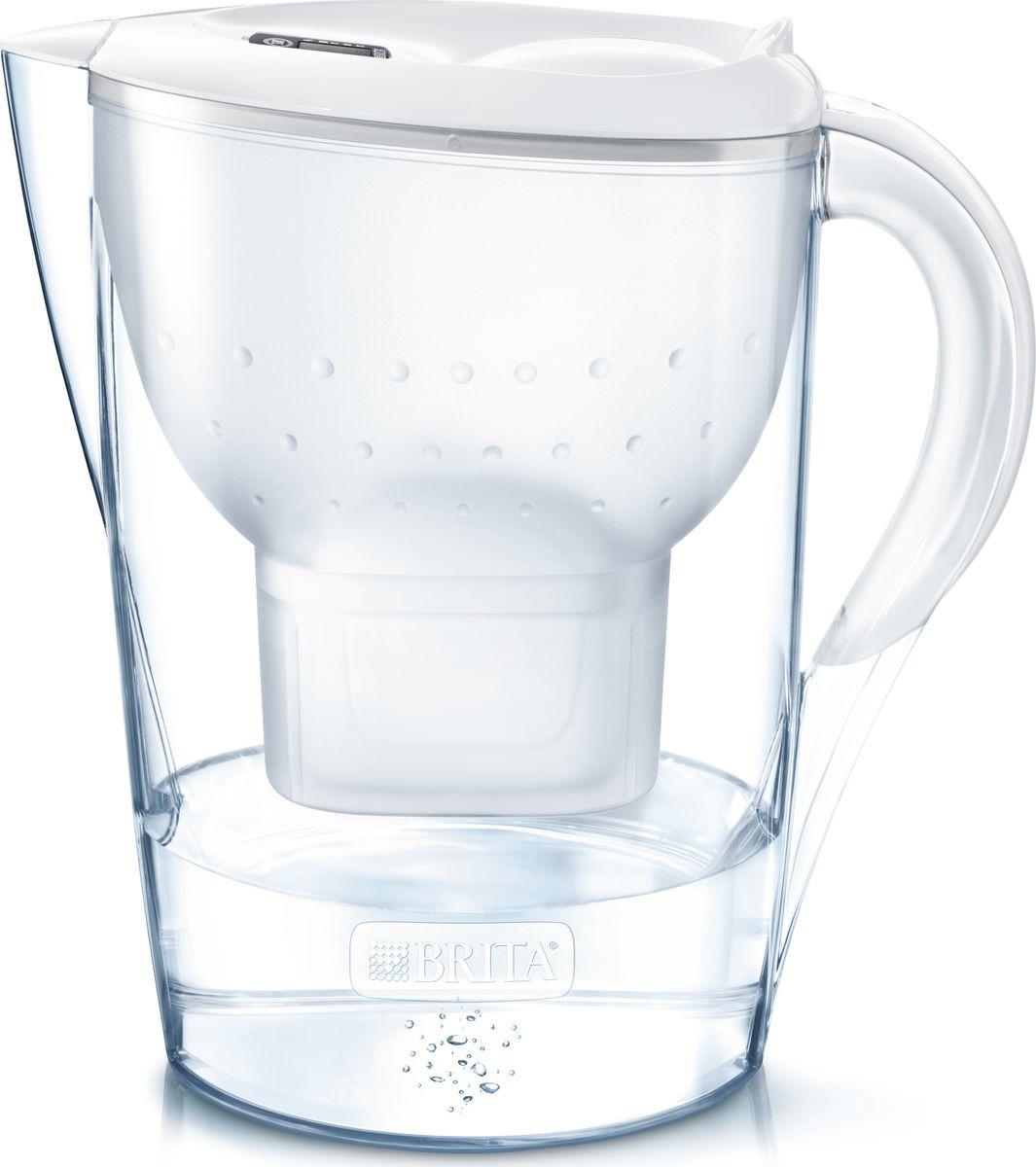 Фильтр-кувшин Brita Marella XL, белый, 3,5 л