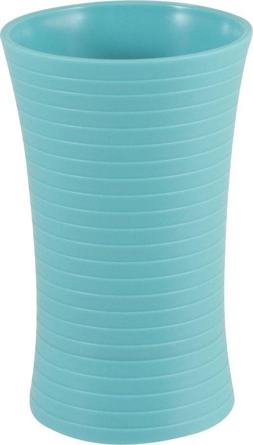 Стакан для ванной комнаты Рыжий кот Mint, 985907, голубой, 11,5 х 7 х 7 см стакан 9 8x6 7x6 7 bizzotto
