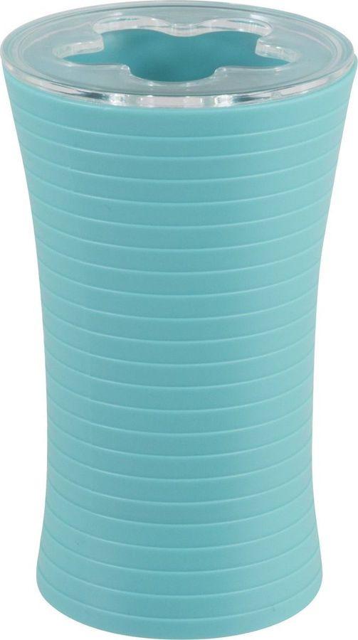 Держатель для зубных щеток Рыжий кот Mint, 985913, голубой, 11,5 х 7 х 7 см держатель для зубных щеток lasella ppsw007 tbh 7 х 7 х 11 см