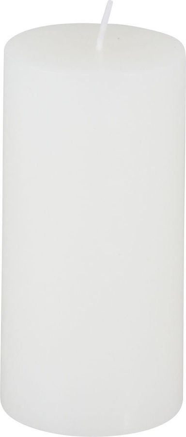 Свеча декоративная Волшебная страна СR-10, 003615, белый, 5 х 5 х 10 см